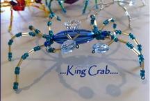 Beadet crabs
