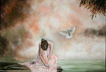 Festményeim / Alkotás