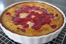 Crazy fruit pie