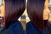 střihy krátkých vlasů