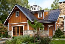 Cedar & Stone exteriors / by Hilda Heady