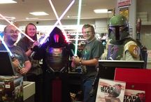 Star Wars Day at Forbidden Planet / May the 4th!