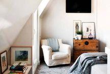 Camere da letto per piccole mansarde