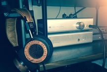 My stuff.... / Mi equipo de audio, audifonos, vinyl, Dac's Amplis... etc....