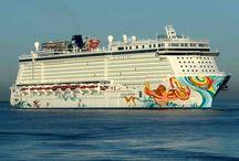 Norwegian cruise line / Pins of the cruiseships of Norwegian cruise line like  Norwegian Epic,Norwegian Getaway or Norwegian Jade