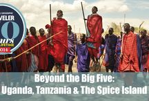 Beyond the Big Five: Uganda, Tanzania & the Spice Island / Trip selected by National Geographic Traveler as one of 2014's 50 Trips of a Lifetime.  http://on.natgeo.com/1gelQZC