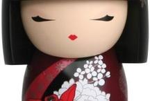 Kokeshi Dolls & cute references