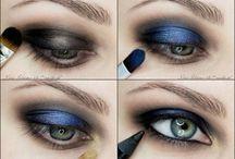 глаза,губы,макияж