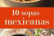 sopas mexicanas