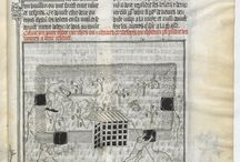 BNF Fr. 619  Le Livre De Chasse (Gaston Phebus c 1390) / The earlier version of the famous Gaston Phebus Book of the Hunt (Le Livre de Chasse).  Thought to have been illuminated in Avignon by Jean de Tolouse under direct supervision of Gaston Phebus in c.1390.