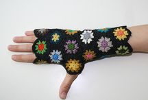 Crocheted Gloves-n-Mits / by Aura Lipinski