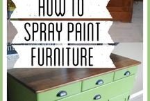 Projects / Refinished furniture