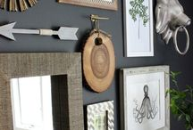 Decor and Art / Great examples of artwork use in home decor and interior design