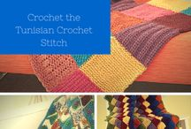 Free Tunisian Crochet Stitch Patterns and Tutorials / by AllFreeCrochet