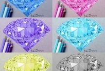 Diamond coulering