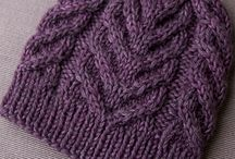 Knitting - beanies and hats