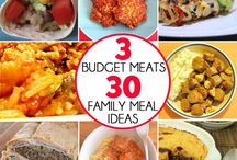 Budget family meals and ideas