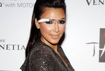 Google glasses on famous faces