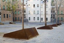 Public Modern Urban Landscape