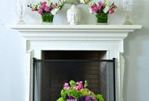 fireplace mantels / mantels / by Laurie Smith