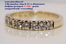 Juwelina gold jewelry diamonds occasions webshop