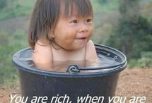 This is why the very poor people in Nepal are so happy !