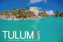 Tulum Map / Printable map of Tulum