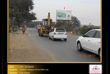 Hoardings at Chakan - Talegaon Road / To book hoardings contact us on - +91 9890801841 | www.aimadvertising.in