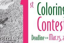 Frog Coloring Book for Kids / Frogs Are Green is collaborating with a UK publisher to produce our 1st coloring book. We are asking children ages 3-17 to submit their black and white drawings by March 15, 2016. We will select 20-25 to create the book. (Artwork pictured to the left is by Goda Dambrauskaite, 10 years, Kaunas art gymnasium, Lithuania.) Visit: http://frogsaregreen.org/contests/coloring-book-contest/  #coloringbook #frogcoloringbook #kidsartcoloringbook #kidscoloringbook #frogsaregreencontests