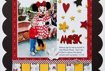 Scrapbooking: Disneyland