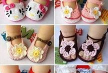 baby sandle patterns / by Lisa Buss