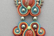 Soutache,necklace,bracelet etc