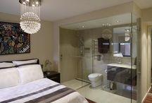 yatak odasına bağlı banyolar