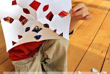 Roční období - zima - sněhové vločky / Zimní tvoření pro děti nápady a inspirace na výrobu sněhových vloček