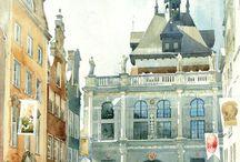 Art - Watercolor - Suffczynski / The art of Michal Suffczynski