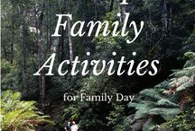 Family Fun / Activities and fun things to do as a family!