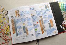 手帳・メモ / 手帳の書き方とかデザインとか
