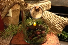 Christmas - Primitive Decorating Ideas 2 / by Tyne Armor