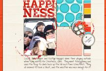 2016  Scrapbooking Layouts / My digital scrapbooking pages created in 2016