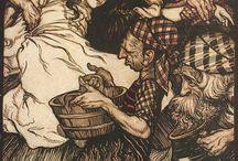 Arthur Rackham illustrations