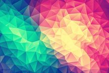 Color Bomb! Design / Modern high contras low poly artwork now available on many different Products.  / by Philipp aka badbugs_art