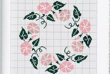 γεωμετρικα λουλουδια 6