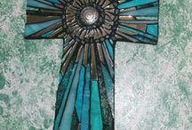 Mosaic Tile cross