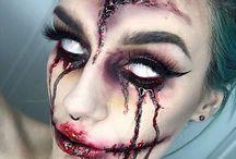 Maquillajes de Terror