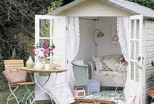 Shabby Chic Gardening Ideas / Style of gardening design