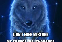 a wolf quote ♤