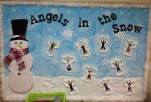 Winter decor preschool