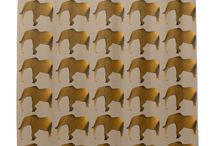 Shower Curtains for the Home / Find a selection of artistic shower curtains for the home. You'll find patterns, animals, holiday themed, and more.