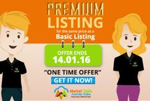 Special Offers / Register and Submit your Listing today for chance to get an extra 12 months of Premium Listing on Market Stalls Australia Online! That's a total of 2 full Years Premium Listing! Get this offer now https://marketstallsaustralia.com.au/buy-a-listing/