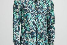 Busy Printed Men's Shirts / by Michelle Davis